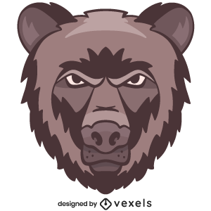 bear,animal,angry,wildlife,head,avatar,sports logo,sports emblem,grizzly bear,logo,team mascot,emblem