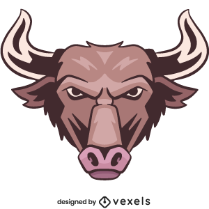 bull,animal,angry,wildlife,head,avatar,sports logo,sports emblem,logo,team mascot,emblem