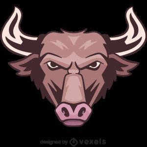 bull,animal,angry,wildlife,head,avatar,sports logo,sports emblem,logo,team mascot,emblem