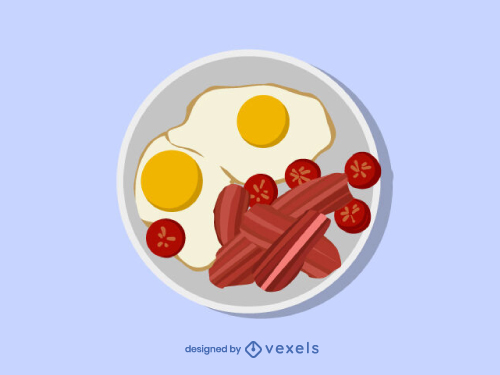 Bacon and Eggs Breakfast Menu