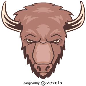 bison,animal,angry,wildlife,head,logo,avatar,sports logo,sports emblem,buffalo,team mascot,emblem