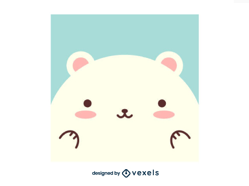 Baby Polar Bear Cute Icon