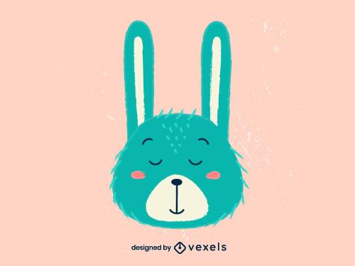 Bunny Head Scandinavian Baby Style