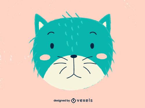 Cat Head Scandinavian Baby Style