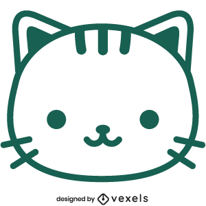 cute,cat,animal,cartoon,kitty,kawaii,cat head,baby style,avatar,flat,baby cat