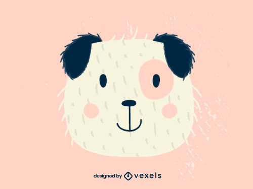 Cute Dog Head Baby Style