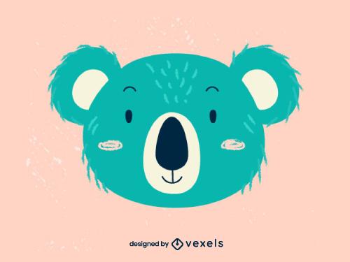 Cute Koala Head Baby Style