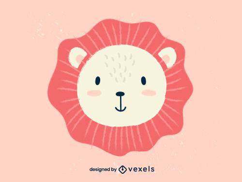 Lion Head Scandinavian Baby Style