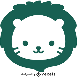cute,lion,animal,cartoon,kawaii,lion head,baby style,avatar,flat,baby lion