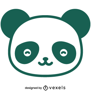 cute,panda,animal,cartoon,kawaii,panda head,baby style,avatar,flat,baby panda