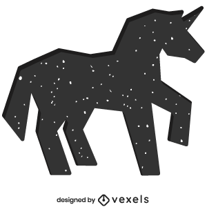 mythical,unicorn,creature,bw,animal,fantasy,mythology,geometric,polygonal,symbol,silhouette