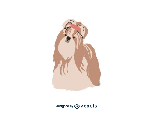 Yorkshire Terrier Breed Dog Illustration